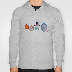 Make the Unlikeliest of Friends, Wherever You Go 3 Hoody