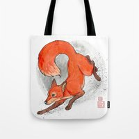 Fox Neighbor Tote Bag