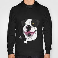 Bubba, the American Bulldog Hoody