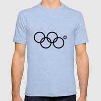 Olympic games logo 2014. Sochi. Mens Fitted Tee Tri-Blue SMALL