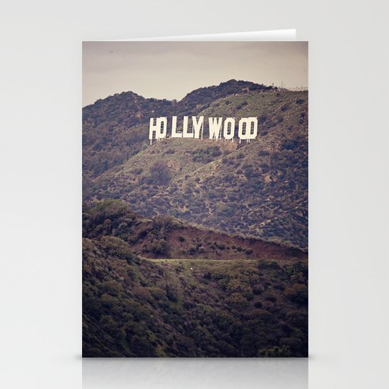 Old Hollywood Stationery Card