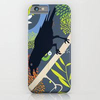 iPhone & iPod Case featuring Raven by Jaina Hill-Rodriguez