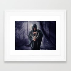 The Sounds Of Silence Framed Art Print