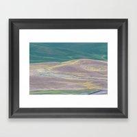 Palouse Abstract I Framed Art Print