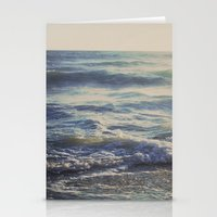 When the Light Turns Gold Stationery Cards