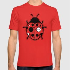 bugs Mens Fitted Tee Red SMALL