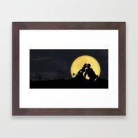 Done Nothing Wrong Framed Art Print