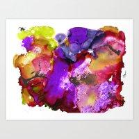 Color Splash 2 Art Print