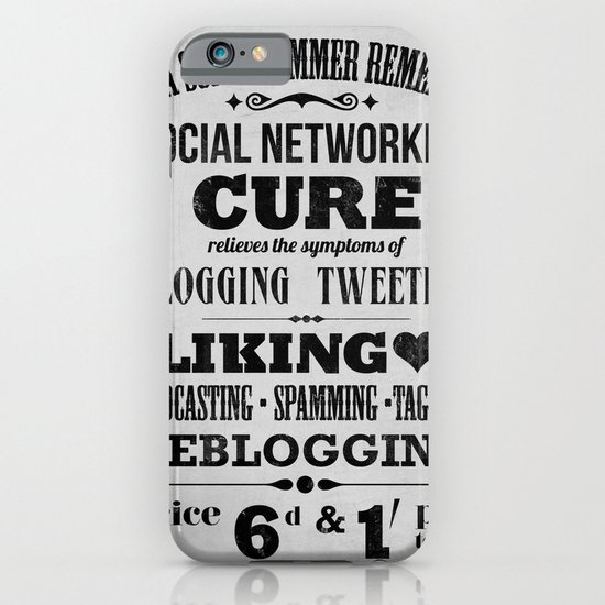 Social remedy iPhone & iPod Case
