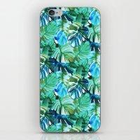 Palm Leaf Green iPhone & iPod Skin