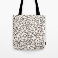 A Lot of Cats Tote Bag