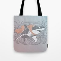 Fearless Creature: Whitey Tote Bag