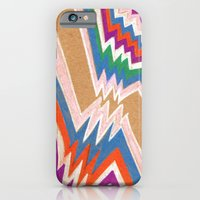 iPhone & iPod Case featuring wonky chevron by ronnie mcneil