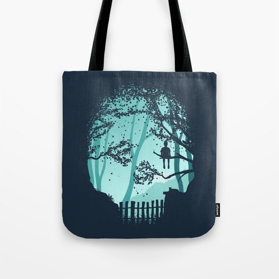 Don't Look Back In Anger Tote Bag