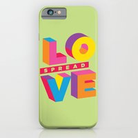 iPhone & iPod Case featuring Spread Love by sudarshana