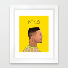 Fresh Prince Framed Art Print