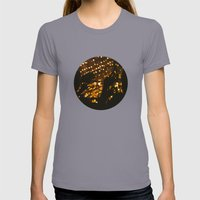 Hands in the Air Womens Fitted Tee Slate SMALL