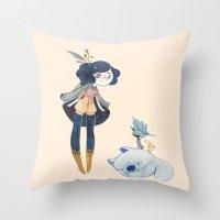 fiora Throw Pillow