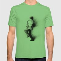Refreska Mens Fitted Tee Grass SMALL