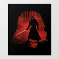 A New Dark Force Canvas Print