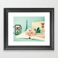 Soft Memories I Framed Art Print