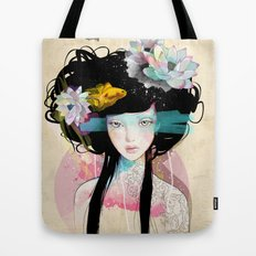 Nenufar Girl Tote Bag