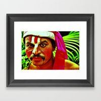 The Ramayana Actor Framed Art Print