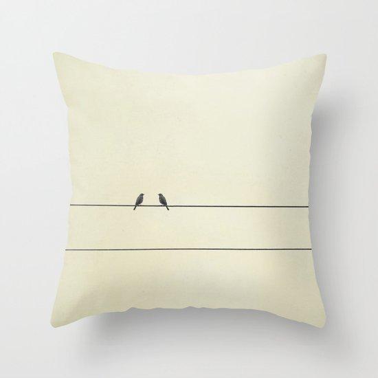 Good Company Throw Pillow
