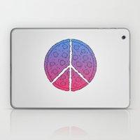 Peace & Pizza Laptop & iPad Skin
