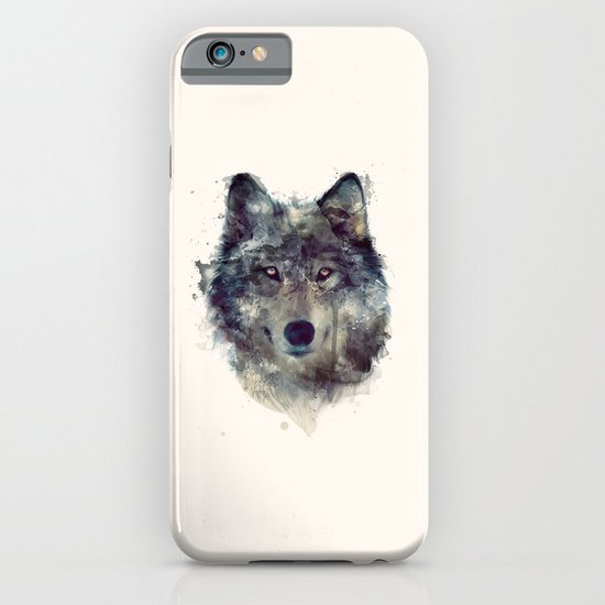 Wolf // Persevere  iPhone & iPod Case