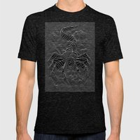 Unknown Hugger Mens Fitted Tee Tri-Black SMALL