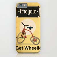 iPhone & iPod Case featuring TRICYCLE by Carlos Hernandez