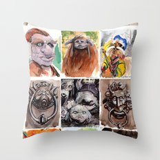 Labyrinth Cast Throw Pillow