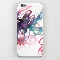 Galaxies iPhone & iPod Skin