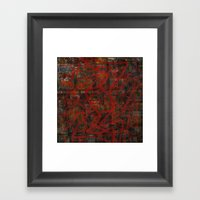 Supermarket Knox Framed Art Print