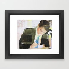 Endorsement Framed Art Print