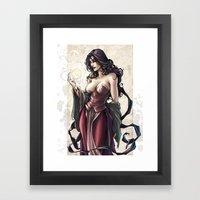 MORGANA Framed Art Print
