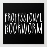 Professional Bookworm - … Canvas Print