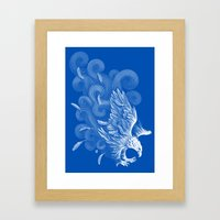 Windy Wings Framed Art Print