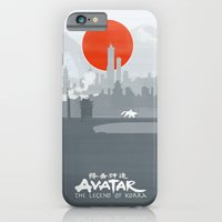 iPhone & iPod Case featuring Avatar The Legend of Korra Poster by Fabio Castro
