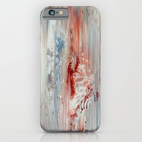 iPhone & iPod Case featuring White Painting I by Liz Moran