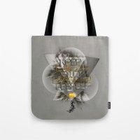 Keep Calm And Breathe De… Tote Bag
