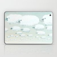 Cloudy Sheep Laptop & iPad Skin