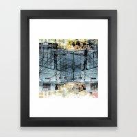Summer space, smelting selves, simmer shimmers. 27 Framed Art Print