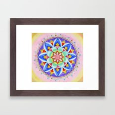 'We Are One' Mandala Framed Art Print