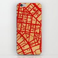 Map Of The Town iPhone & iPod Skin