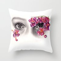 This Night Has Opened My Eyes Throw Pillow