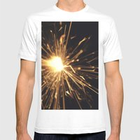I See Sparks Mens Fitted Tee White SMALL
