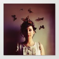 Canvas Print featuring Hush by Elle Moss
