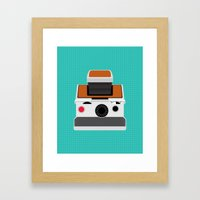 Polaroid SX-70 Land Camera Framed Art Print